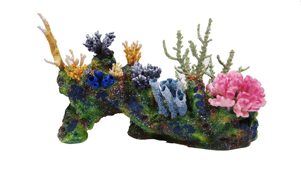 Artificial reef structures coral pieces aquatic perfection for Artificial coral reef aquarium decoration inserts