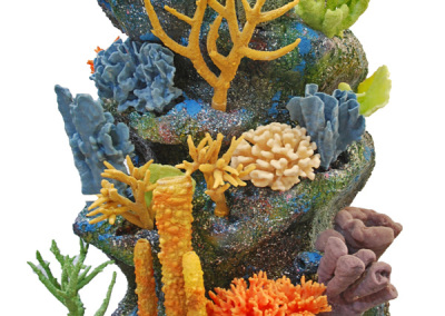 Nautilus reef kit with corals