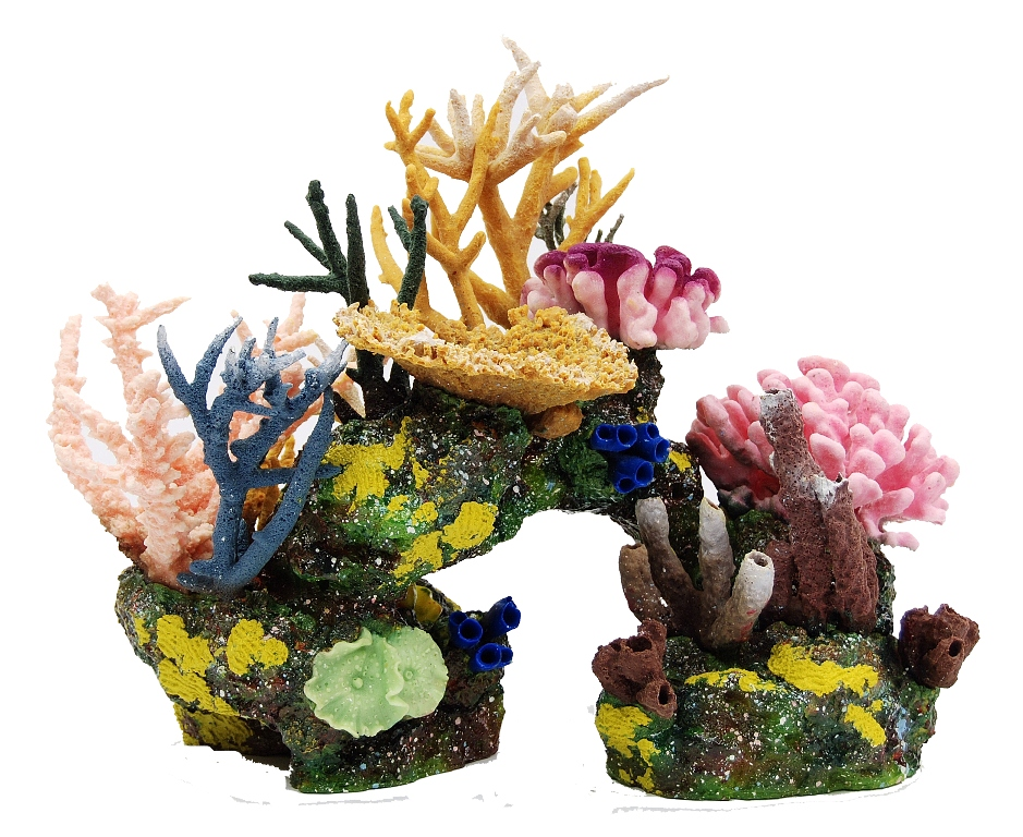 Artificial reef structures coral pieces aquatic perfection for Aquarium coral decoration